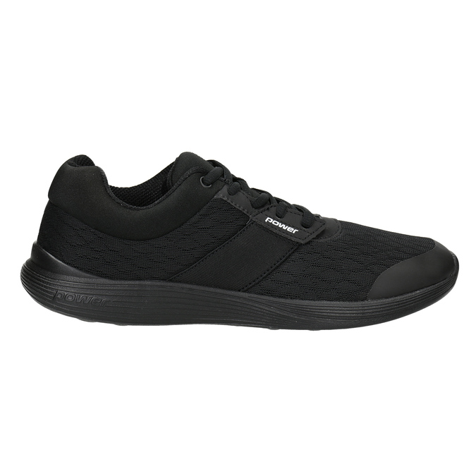Ladies' Black Sneakers power, black , 509-6203 - 26