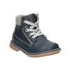 Kids' leather shoes bubblegummer, blue , 114-9610 - 13