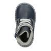 Kids' leather shoes bubblegummer, blue , 114-9610 - 26
