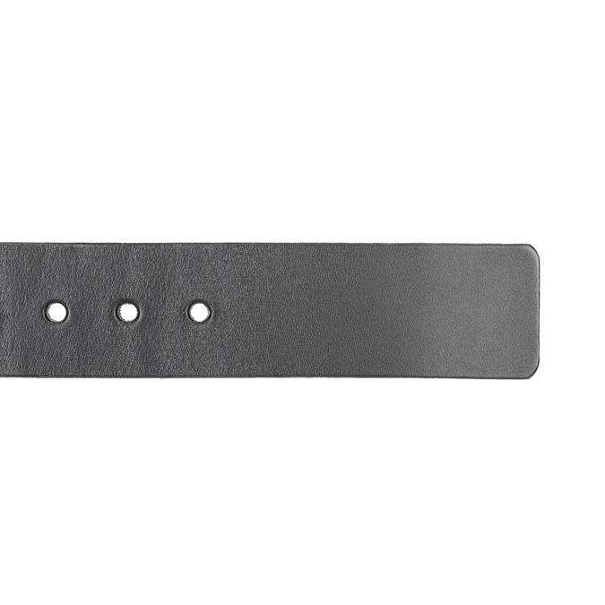 Men's leather belt, black , 954-6196 - 16