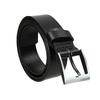 Men's leather belt, black , 954-6196 - 13