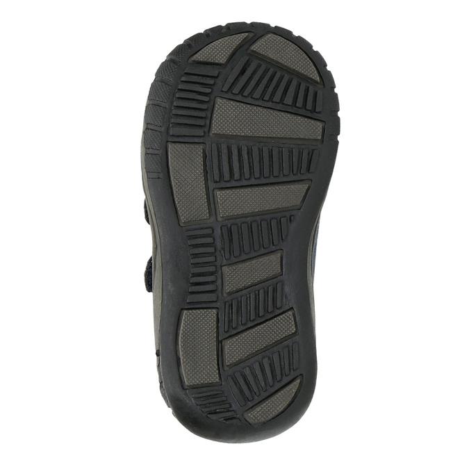 Boys' ankle boots bubblegummer, blue , 111-9618 - 26