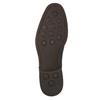 Casual leather shoes blue bata, blue , 826-9681 - 19