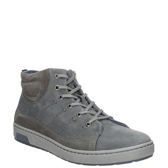 Men's ankle sneakers bata, gray , 846-2651 - 13