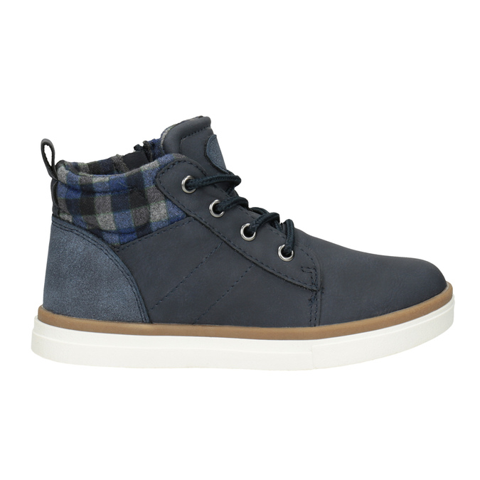 Children's High Top Shoes mini-b, blue , 291-9172 - 26