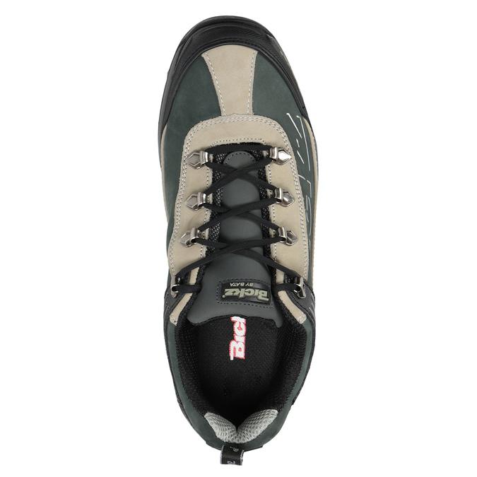 Men's Bickz 201 work shoes bata-industrials, black , 846-6801 - 15