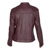 Burgundy Leather Jacket bata, red , 974-5175 - 26