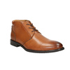Men's leather Ombré boots bata, brown , 826-3913 - 13