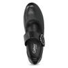 Leather Mary Jane Flats gabor, black , 514-6118 - 17