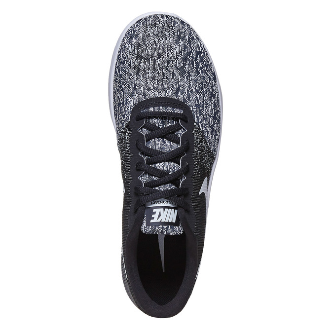 Ladies' sneakers with a pattern nike, black , 509-6189 - 19