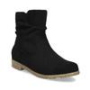 Ladies' ankle boots bata, black , 599-6614 - 13