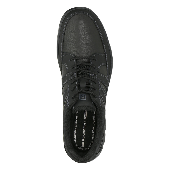 Men's casual sneakers rockport, black , 826-6035 - 26
