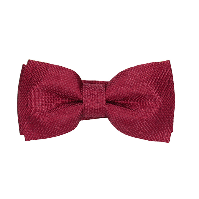 Bow Tie, Handkerchief, and Cufflinks Set bata, red , 999-5307 - 26