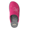 Ladies' Pink Slippers bata, pink , 579-5621 - 26
