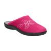 Ladies' Pink Slippers bata, red , 579-5621 - 13