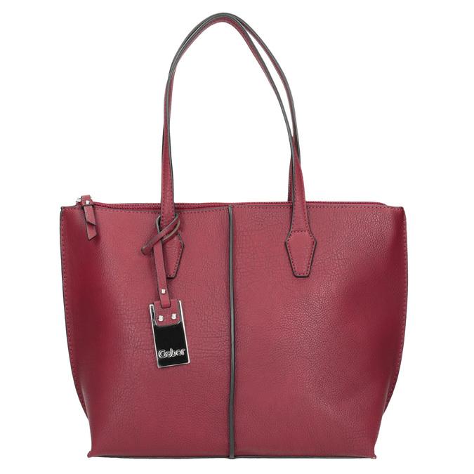 Red Ladies' Handbag gabor-bags, red , 961-5059 - 26