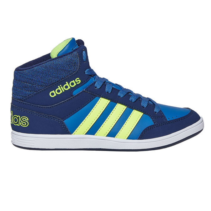 Children's High Top Sneakers adidas, blue , 401-9291 - 15