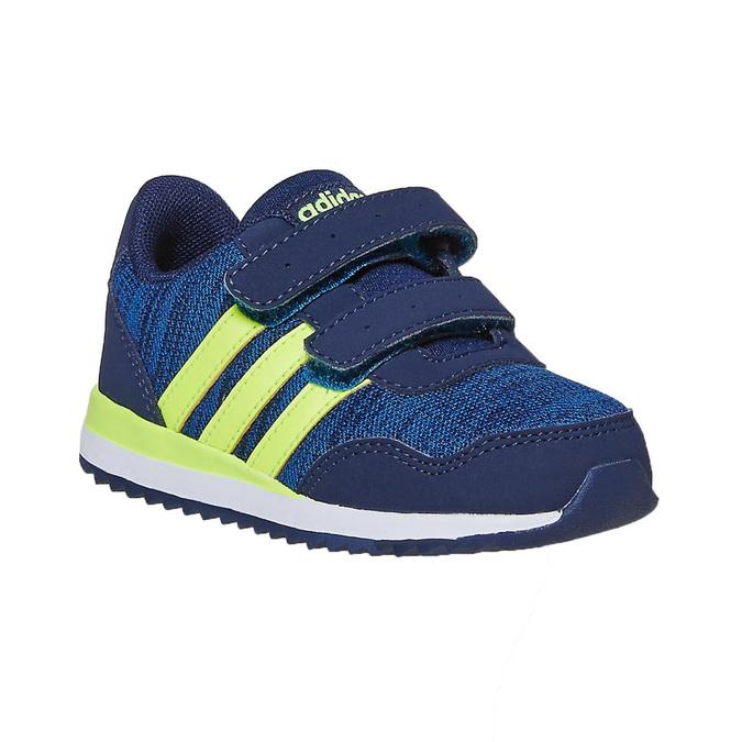 Children's Hook-and-Loop Sneakers adidas, blue , 109-9157 - 13