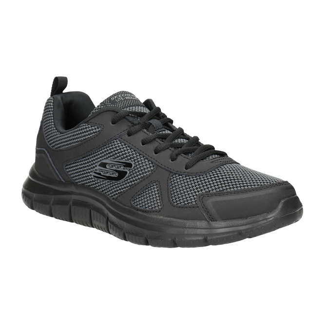 Men's Black Sneakers skechers, black , 809-6331 - 13