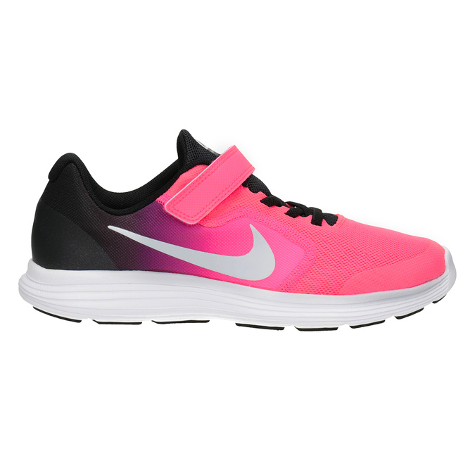 Pink Girls' Sneakers nike, red , 309-5132 - 26