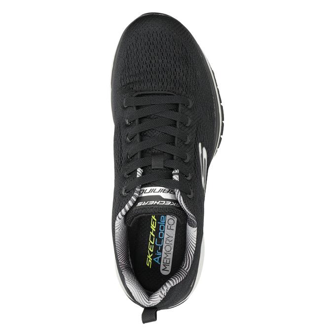 Black Men's Sneakers skechers, black , 809-6330 - 15