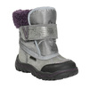 Girls' Winter Boots with Fleece bubblegummer, gray , 193-2601 - 13