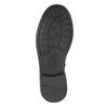 Girls' high boots with rhinestones mini-b, black , 391-6398 - 17