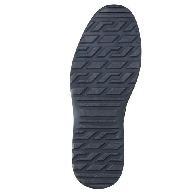 Men's Leather Ankle Boots bata, black , 896-6667 - 19