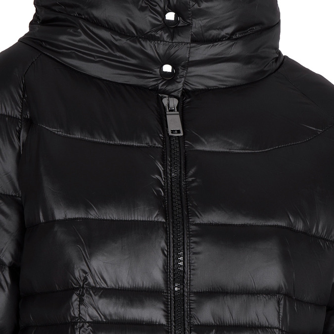 Ladies' quilted jacket bata, black , 979-6166 - 16