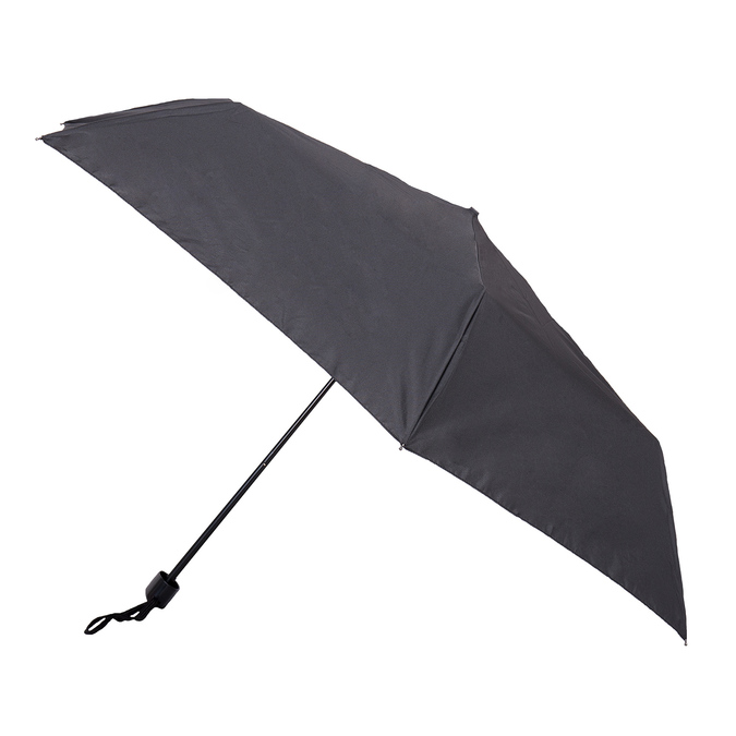 Black folding umbrella doppler, black , 909-6659 - 13