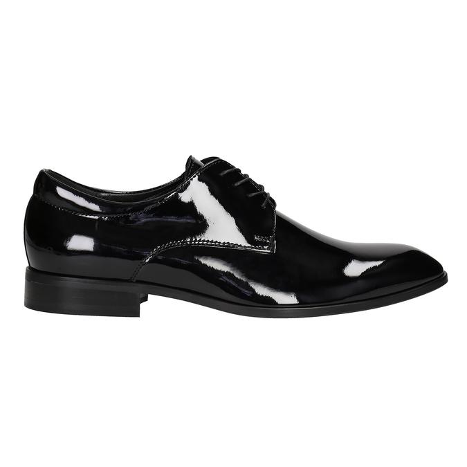 Men's patent leather shoes conhpol, black , 828-6605 - 26