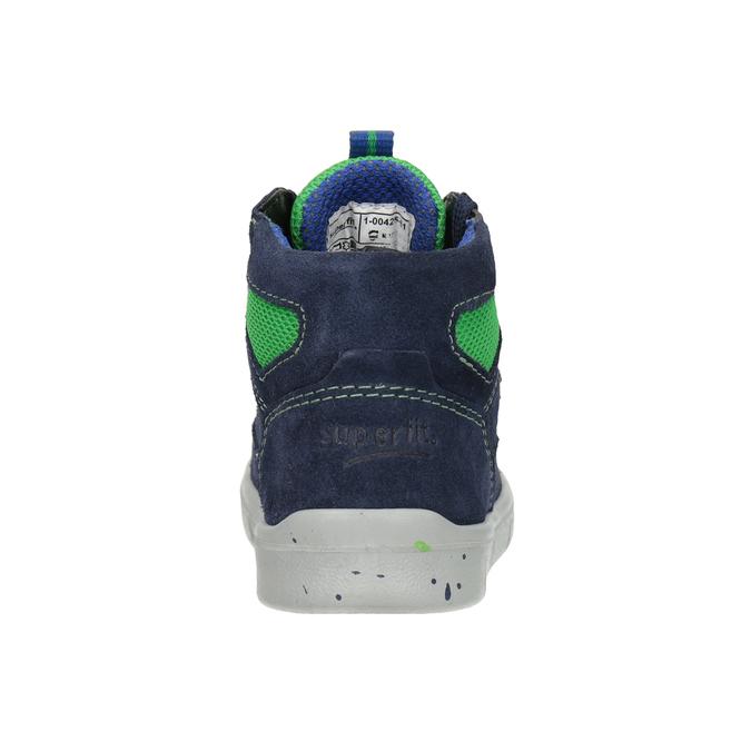 Children's ankle boots superfit, blue , 113-9029 - 16