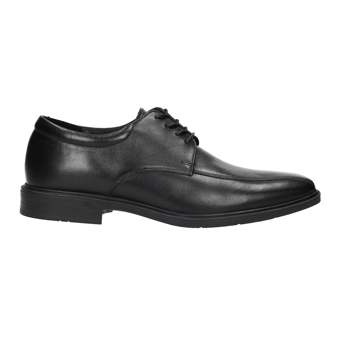 Men's Leather Shoes climatec, black , 824-6986 - 26