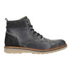Men's Leather Ankle Boots bata, gray , 896-2669 - 26