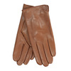 Brown leather gloves bata, brown , 904-3129 - 13