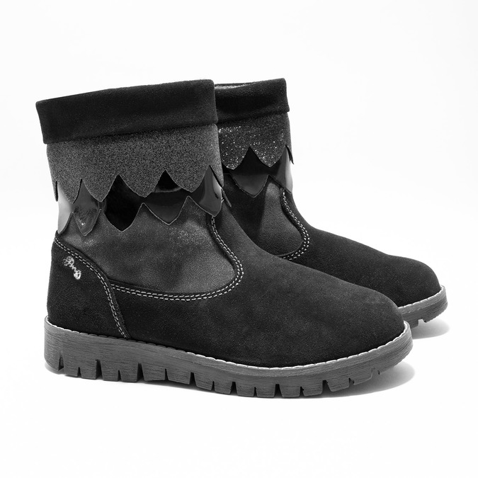 Children's winter boots primigi, black , 423-6005 - 26