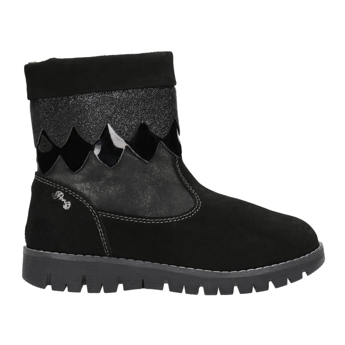 Children's winter boots primigi, black , 423-6005 - 16