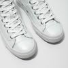 White ankle sneakers diesel, white , 501-6743 - 14