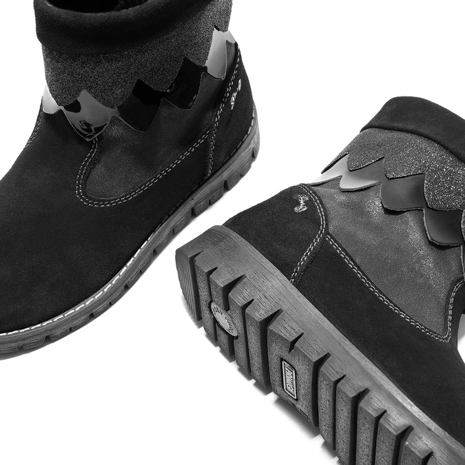 Children's winter boots primigi, black , 423-6005 - 14