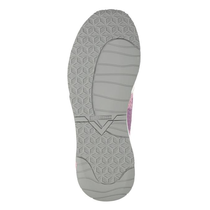 Pink sporty sneakers diesel, pink , 509-5760 - 19