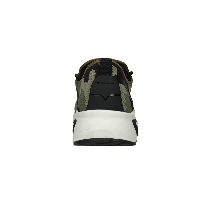 Men's patterned sneakers diesel, green, 809-7602 - 16