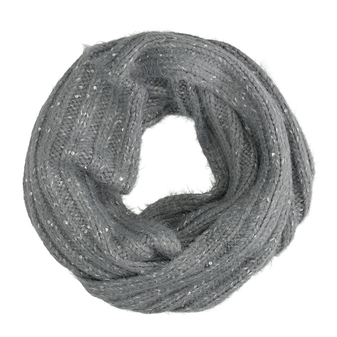Infinity Scarf with Sequins bata, multicolor, 909-0651 - 16