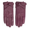 Ladies' leather gloves, violet , 904-0109 - 26
