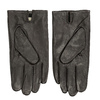 Brown leather gloves bata, brown , 904-4130 - 16