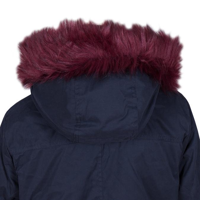 Ladies' Parka with Removable Fur bata, blue , 979-9131 - 15