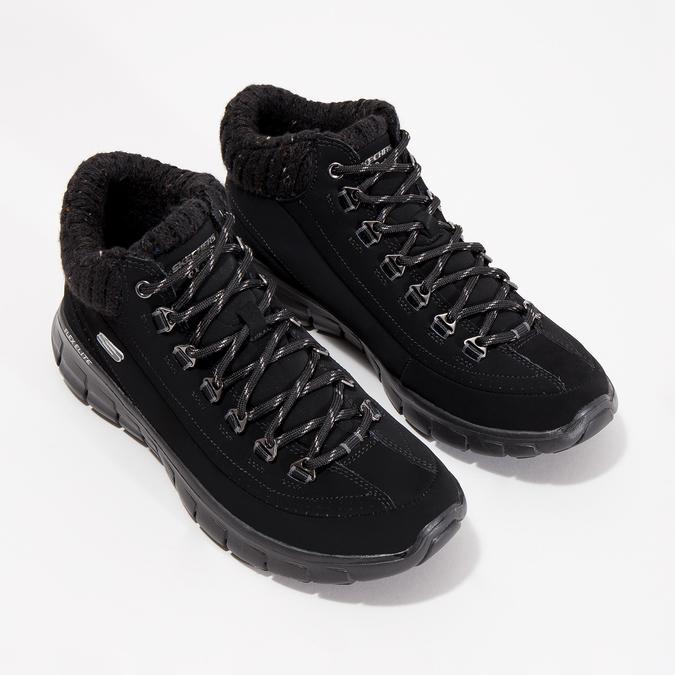 Ladies' ankle boots skechers, black , 501-6314 - 26