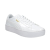 Ladies' white flatform sneakers puma, white , 501-1159 - 13