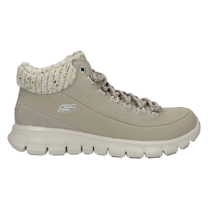 Ladies' ankle boots skechers, gray , 501-2314 - 16