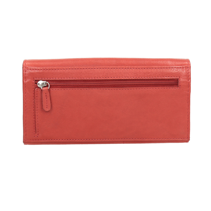 Ladies' red leather purse, red , 944-3203 - 16