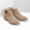 Leather ankle boots bata, brown , 596-3685 - 26